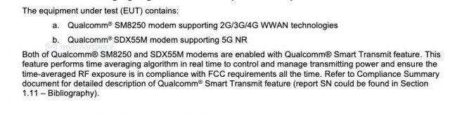 Nové technické údaje spoločnosti Samsung Galaxy Poznámka 20 Ultra vydané s certifikáciou FCC 4
