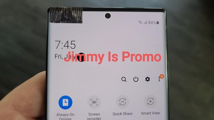 Únik ukazuje spoločnosť Samsung Galaxy Poznámka 20 Ultra na videu 3