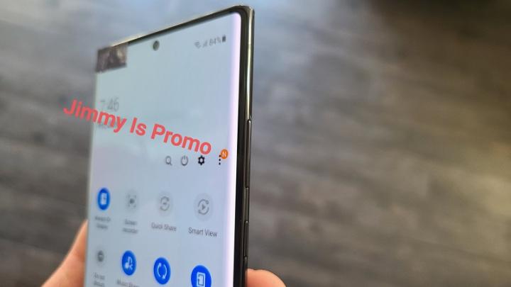 Únik ukazuje spoločnosť Samsung Galaxy Poznámka 20 Ultra na videu 4