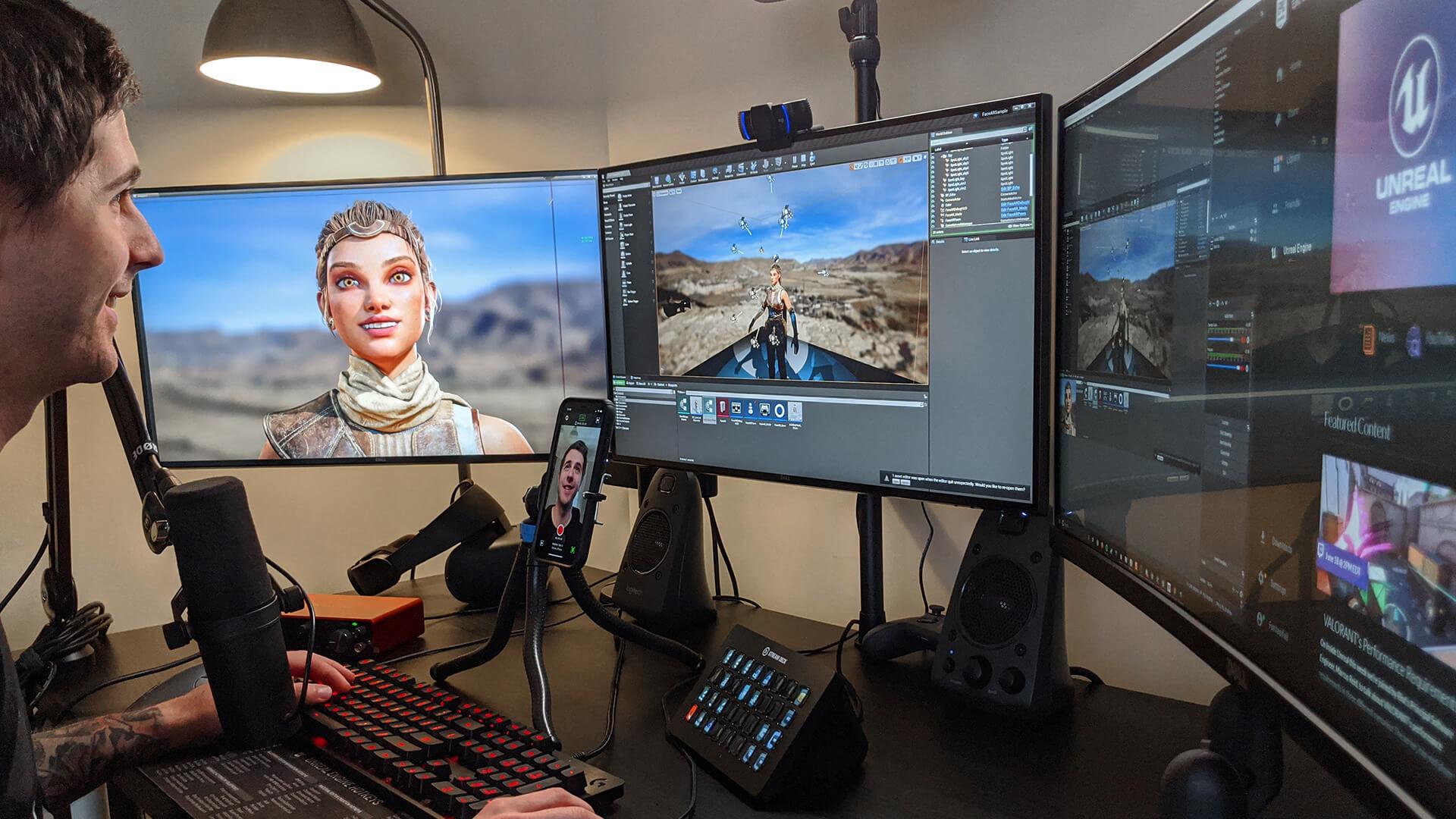 Epic Games lança o aplicativo para iPhone para capturar animações de rosto 3D usando o Face ID 3