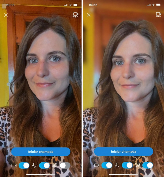 Skype    v systéme iOS umožňuje aj rozmazanie pozadia pri videohovoroch 3