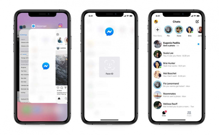 Facebook    Podaci o sigurnosti programa IOS Messenger