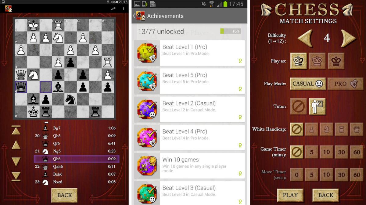 Chess Captura de tela grátis 2020