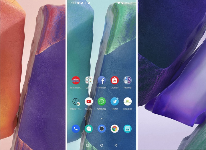 Preuzmite sada službene pozadine tvrtke Samsung Galaxy Napomena 20 3