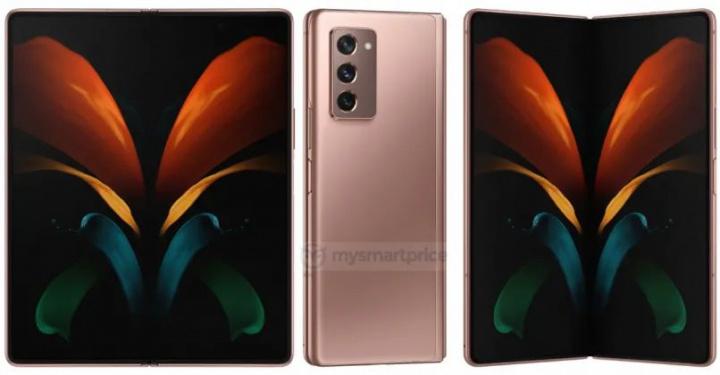 Galaxy Z Fold 2  - Obrazy nowego składanego smartfona Samsunga 2