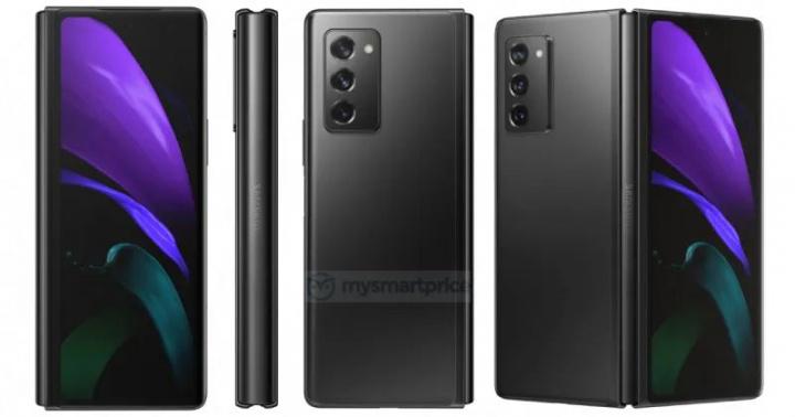 Galaxy Z Fold 2  - Obrazy nowego składanego smartfona Samsunga 3