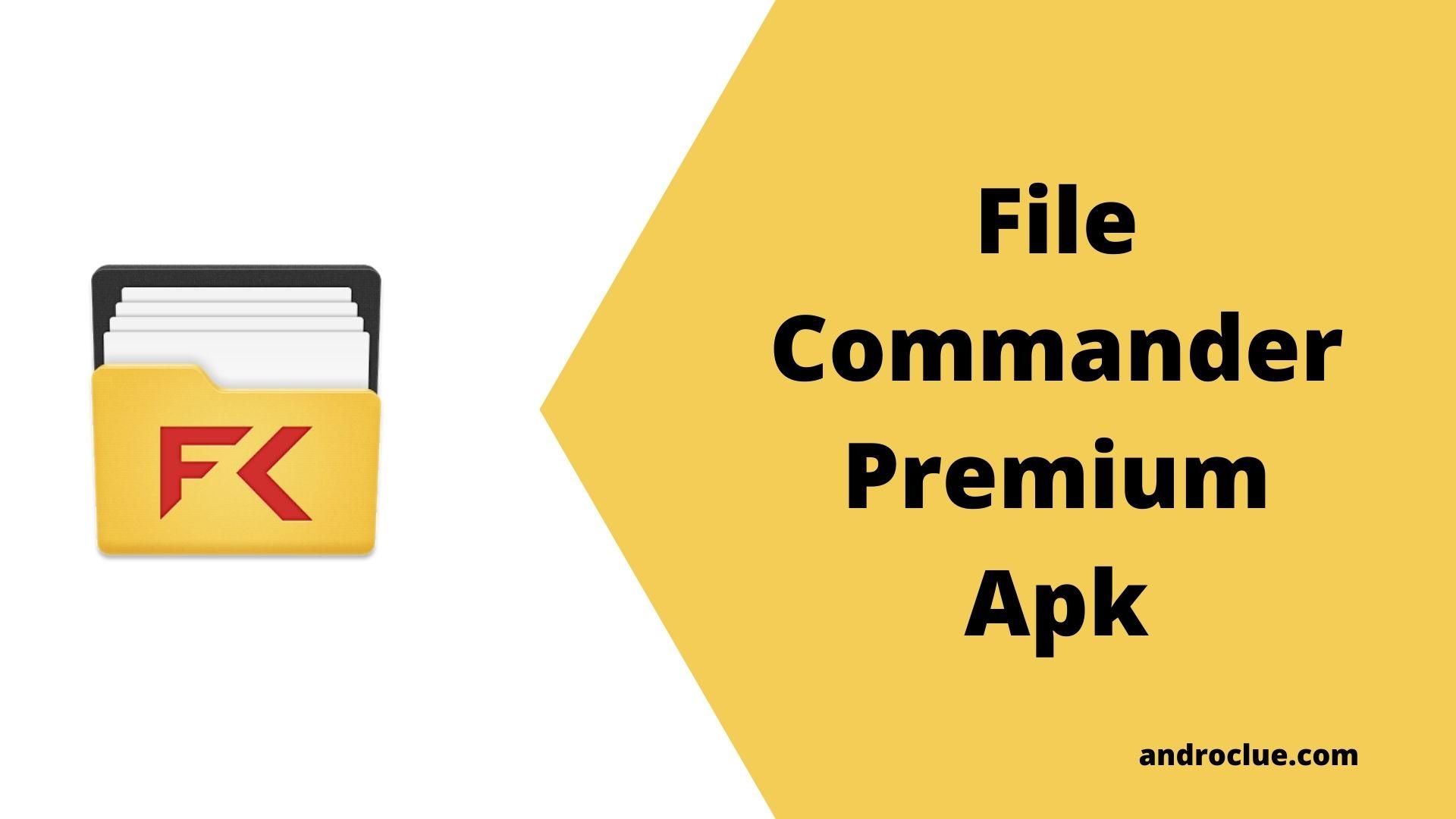 File Commander Premium Apk Pobierz najnowszą wersję (2020)