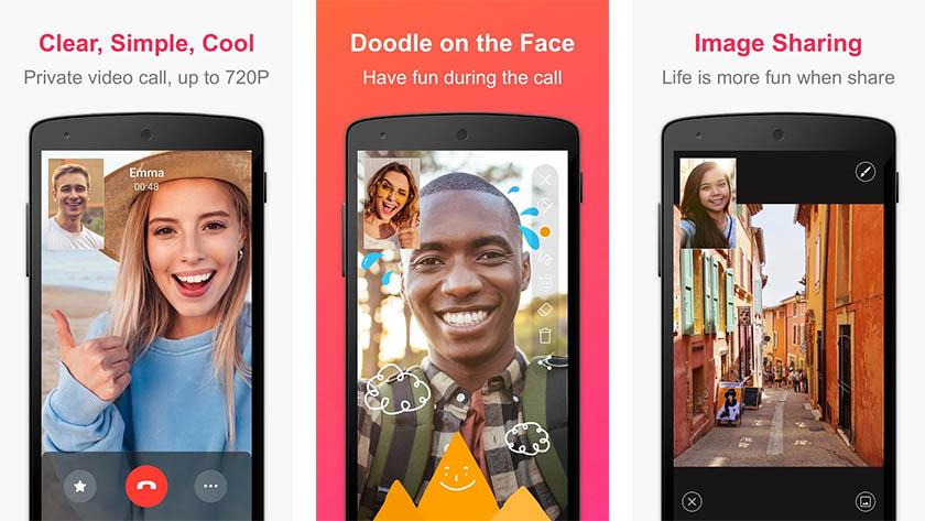 JusTalk to jedna z najlepszych aplikacji do rozmów wideo na Androida