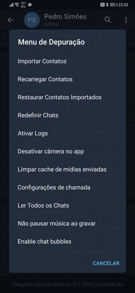 Telegram Czat bąbelkuje Komunikator Facebook posty