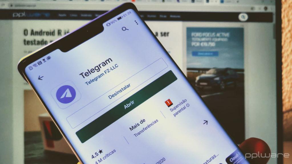Telegram Chat bubbles Messenger Facebook mensagens