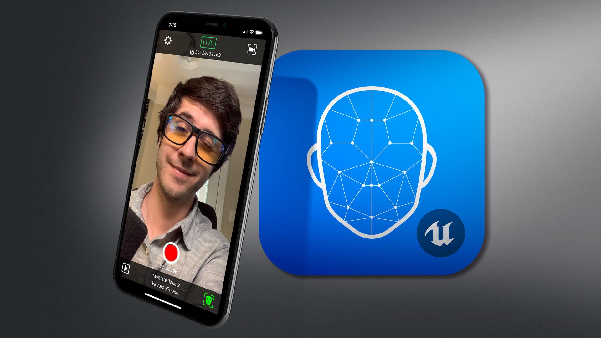 Epic Games lança o aplicativo para iPhone para capturar animações de rosto 3D usando o Face ID 1