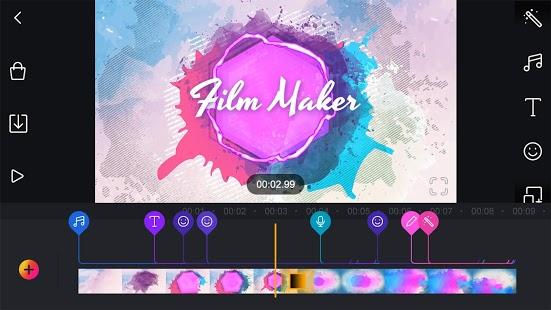 Film Maker Pro - darmowy program do tworzenia filmów i edytora wideo