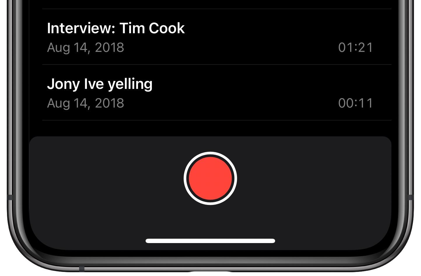 Hlasové poznámky Vylepšite nahrávanie