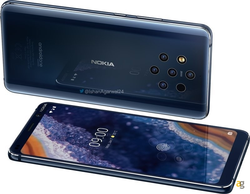 Nokia 9 PureView: więcej wiedzieć?  Wyciekły renderowane obrazy! 6