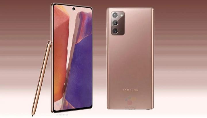Preuzmite sada službene pozadine tvrtke Samsung Galaxy Napomena 20 1