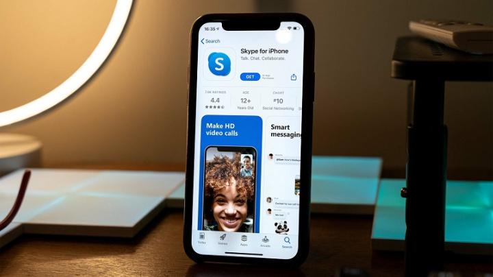 Skype    v systéme iOS umožňuje aj rozmazanie pozadia pri videohovoroch 1