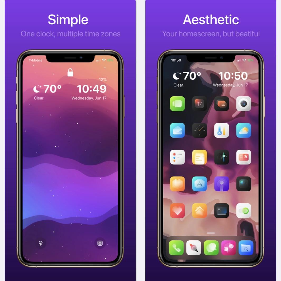 O Viper recarrega as telas iniciais e as telas bloqueadas do iPhone 2
