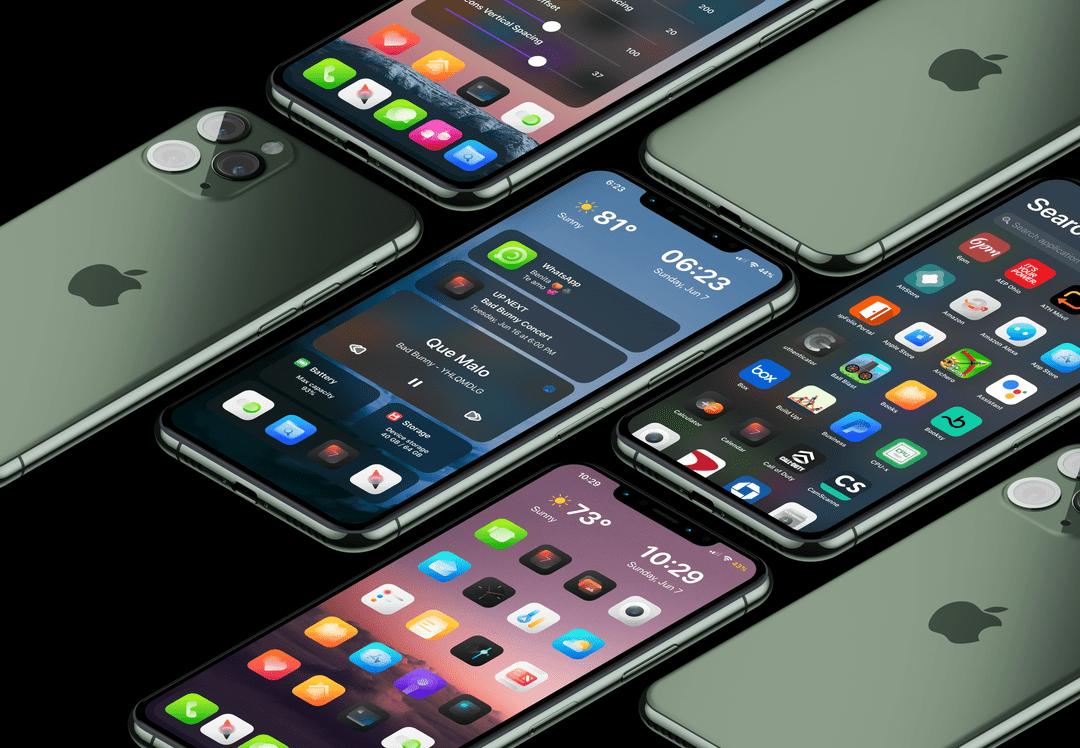 O Viper recarrega as telas iniciais e as telas bloqueadas do iPhone 1