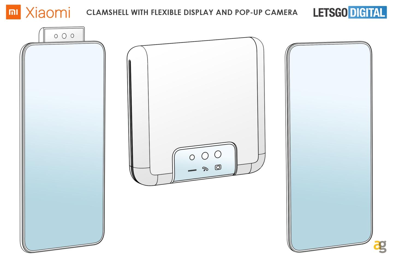 Xiaomi przygotowuje ulotkę z klapką: zgłoszenie patentowe. 2